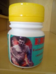Estimulante Sexual erector 50 mg